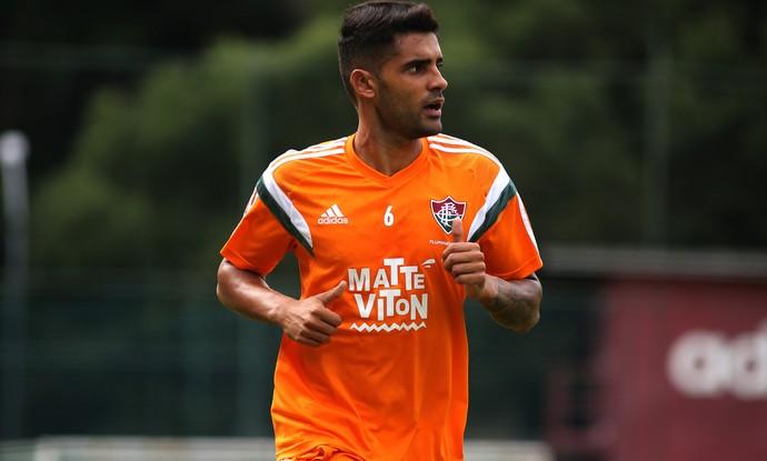 Giovanni treino do Fluminense Laranjeiras (Foto: Nelson Perez / Fluminense FC)