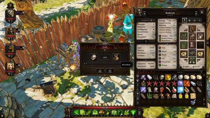 Qualquer item no jogo pode ser processado para algo mais valioso (Foto: Reprodução)