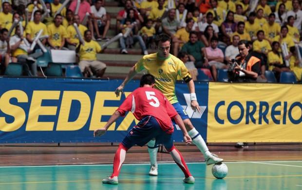 Falcão, jogador de futsal da seleção brasileira (Foto: Zerosa Filho-CBFS)