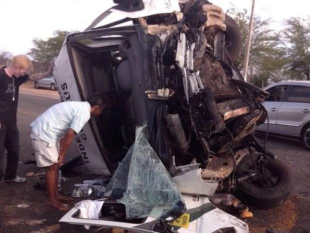 Três pessoas morreram e 19 ficaram feridos (Foto: Gaspar de Sousa Loureiro)