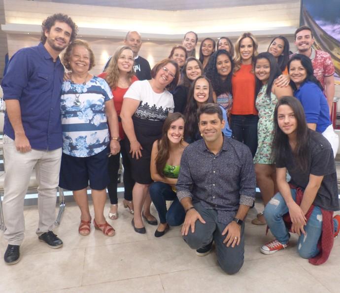 O clima animado tomou conta da plateia  (Foto: Paula Oliveira/Gshow)