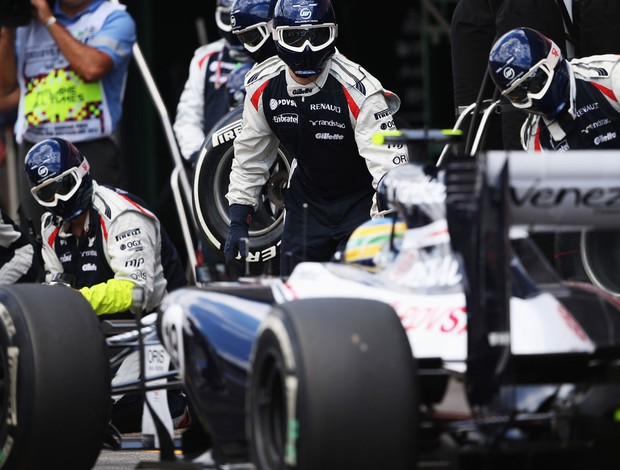 bruno senna williams gp da alemanha (Foto: Ag&#234;ncia Getty Images)