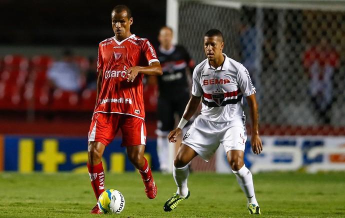 Rivaldo e Antonio Carlos, São Paulo x Mogi Mirim (Foto: Marcello Zambrana/Agência Estado)