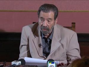 Coronel Paulo Malhães (GloboNews)  (Foto: Reprodução GloboNews)