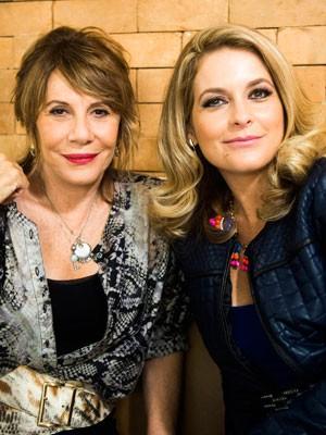 Renata e Cláudia já gravaram juntas (Foto: João Miguel Júnior/TV Globo)
