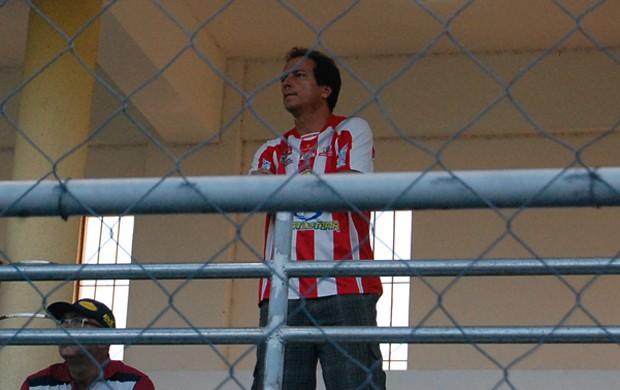 Presidente do Auto Esporte, Watteau Rodrigues (Foto: Renata Vasconcellos)