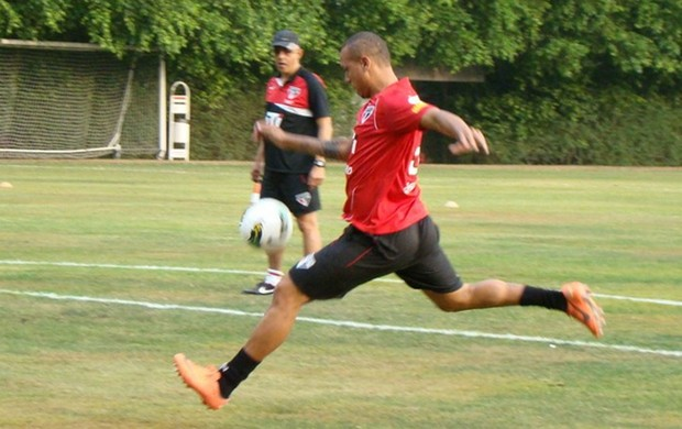 Luis Fabiano, Treino do São Paulo (Foto: Divulgação / SãoPaulo.net)