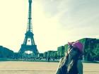 Após Cannes, Isabelli Fontana curte o dia em Paris