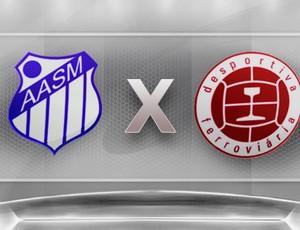 Copa Espírito Santo 2012: São Mateus x Desportiva Ferroviária (Foto: Globoesporte.com)