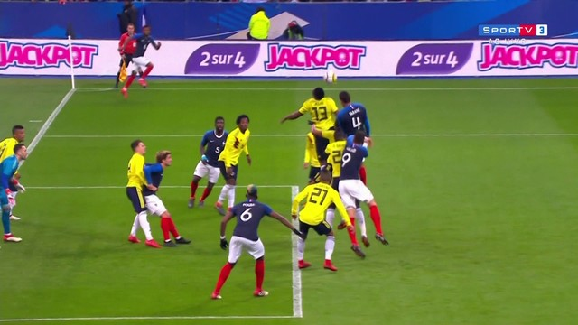 França x Colômbia - Amistosos 2018 - globoesporte.com b70b5afaf0f8b