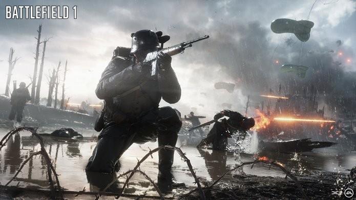 Armas conhecidas dos antigos jogos também sofreram mudanças em Battlefield 1 (Foto: Divulgação/Electronic Arts)