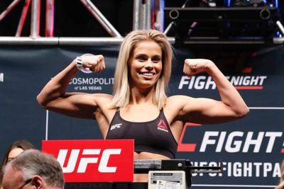 Paige VanZant Pesagem UFC (Foto: Evelyn Rodrigues)