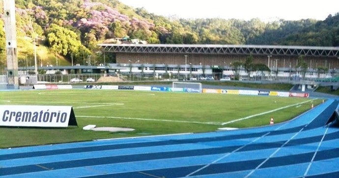 Estádio Sesi  Blumenau (Foto: Assessoria/Metropolitano)