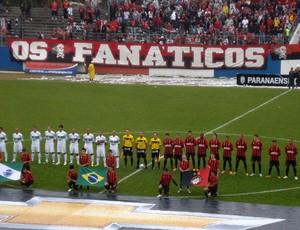 Atlético-PR 2 x 2 Coritiba, na Vila Olímpica, pelo Campeonato Paranaense (Foto: Fernando Freire)