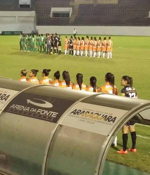 Ferroviária x Rio Preto - Campeonato Brasileiro Feminino 2015 (Foto: Diego Coxi/Arquivo pessoal)