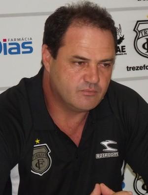 Vica, novo técnico do Treze (Foto: Silas Batista / Globoesporte.com/pb)