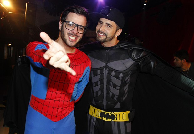 Max Porto e Latino (Foto: Paduardo/AgNews)