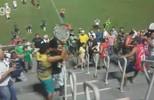 Briga de torcida e jogadores exaltados marcam jogo de seminal do Campeonato Amazonense