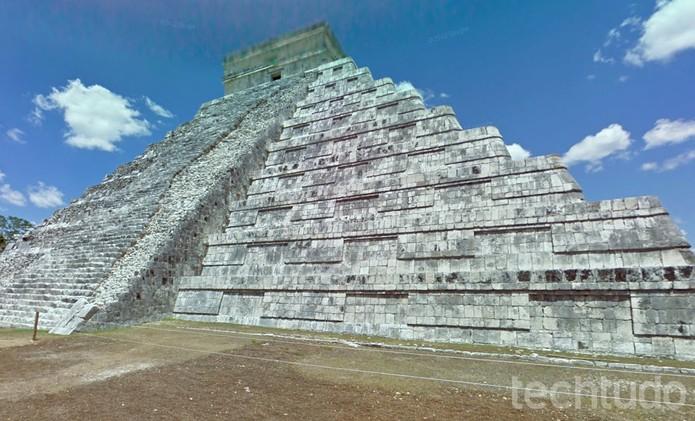 Ruinas Maia de Yucatán também estão disponíveis no Google Street View (Foto: Reprodução/Barbara Mannara)