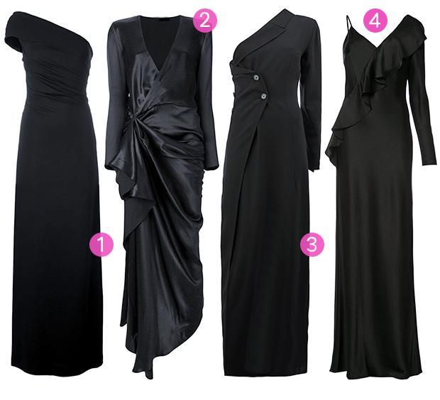 Vestido preto (Foto: Divulgação)