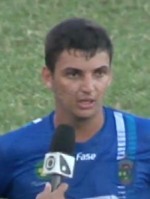 Breda, zagueiro do Linhares (Foto: Reprodução/GloboEsporte.com)