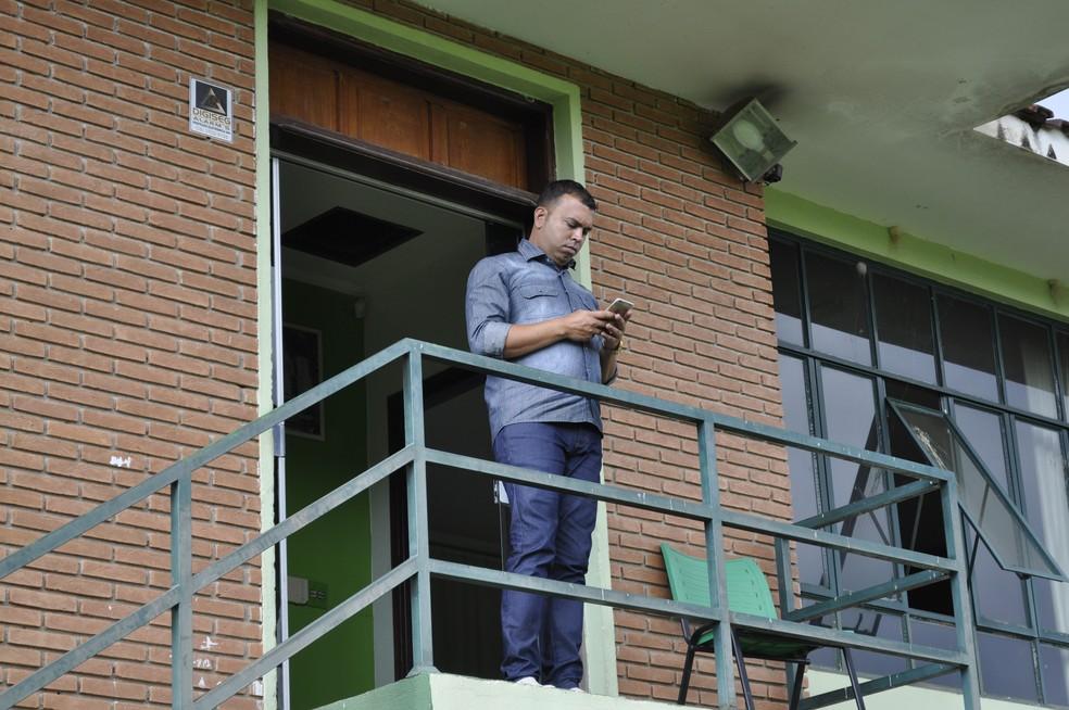 Gerência de futebol ainda não tem novo nome após saída de Alex Joaquim (Foto: Lúcia Ribeiro)