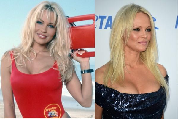 Pamela Anderson continua tão bela quanto nos anos 90 (Foto: Reprodução/Getty Images)