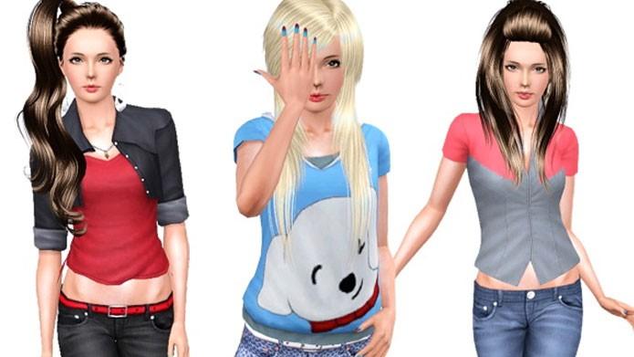 Há uma variedade imensa de roupas para The Sims 3 (Foto: Reprodução/The Sims Resources)