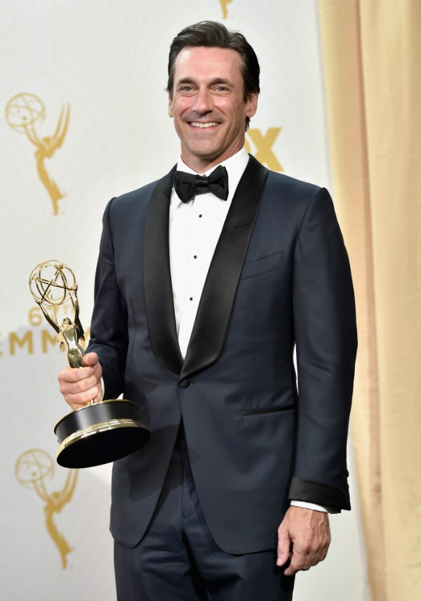 O Don Draper do ator Jon Hamm era viciado em bebida em 'Mad Men' (Foto: Getty Images)
