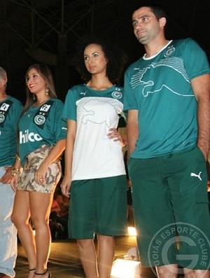 Lançamento dos uniformes do Goiás pela Puma