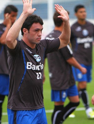 kleber gladiador grêmio cerâmica jogo-treino olímpico (Foto: Lucas Uebel/Grêmio FBPA)
