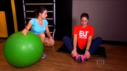 Corrida, funcional, pilates... Exercícios feitos pela Gentil durante a gravidez