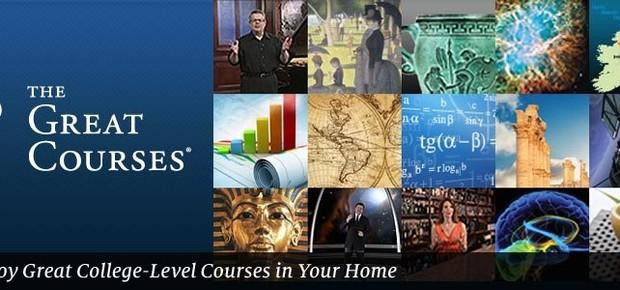 Great courses (Foto: reprodução )