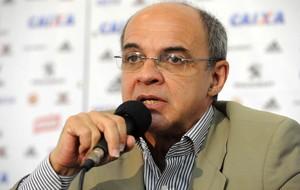 Eduardo Bandeira de Mello, presidente do Flamengo (Foto: Alexandre Vidal/Fla Imagem)