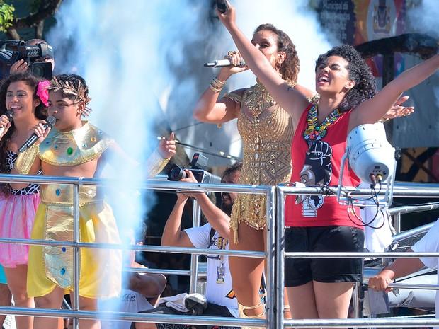 Ivete canta com crianças do The Voice Kids (Foto: Sérgio Pedreira/Ag. Haack)