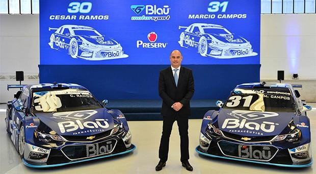 Marcelo Hahn, CEO da Blau Farmacêutica (Foto: Divulgação/Fernanda Freixos)