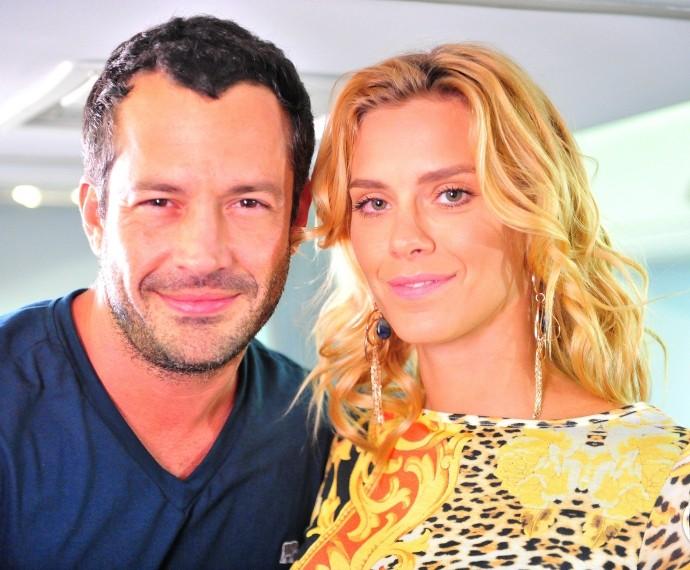 Com Malvino Salvador, em 'Fina Estampa' (Foto: CEDOC)