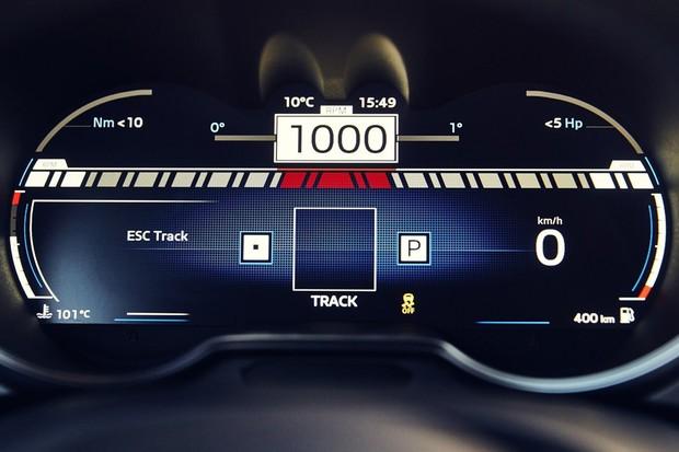Quadro de instrumentos digital é totalmente customizável (Foto: Divulgação)