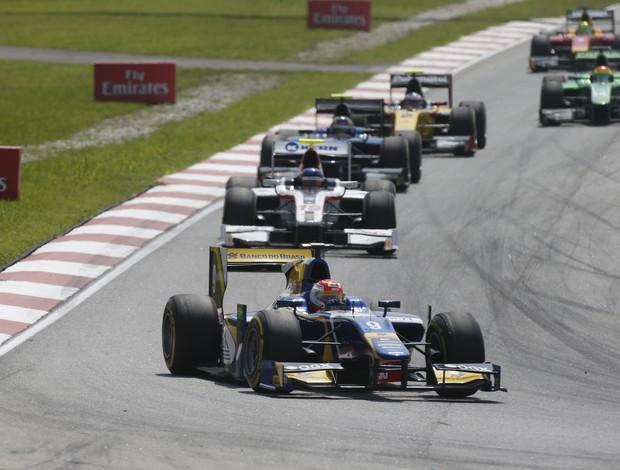 Felipe Nasr fica em 2° em Sepang (Foto: Divulgação/GP2)