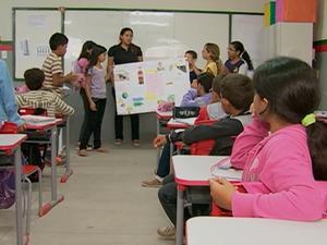 ABTV mostra perfil da Escola Municipal Rubem de Lima, em Caruaru (Foto: Reprodução/TV Asa Branca)