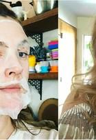 Antes e depois: famosas capricham no visual e no make para o Globo de Ouro