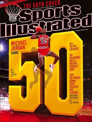 Capa Sports Illustrated Michael Jordan (Foto: Reprodução)