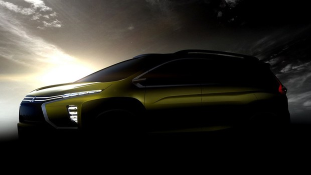 Carro conceito da Mitsubishi eX exibido na Indonésia (Foto: Divulgação)