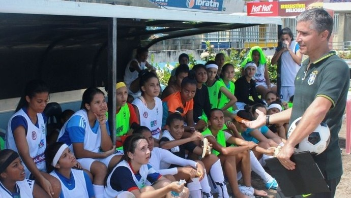 Seletiva seleção brasileira Doriva Bueno (Foto: Allan Jonnes)