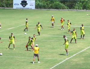 Treino Vasco, CT João Havelange - Pinheiral  (Foto: Gustavo Rotstein / Globoesporte.com)