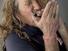 Voz do Led Zeppelin, Robert Plant  desembarca pela 1ª vez em Brasília
