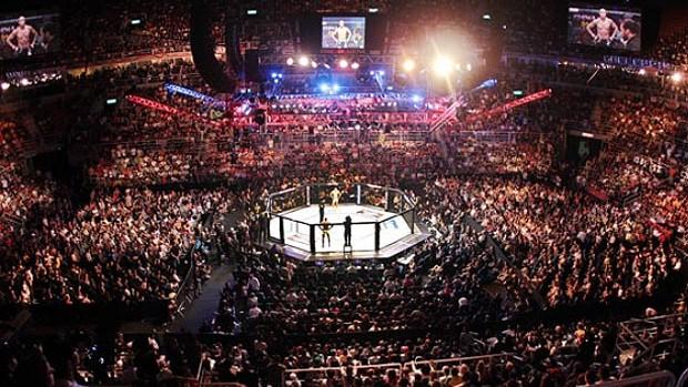 Vista panorâmica da Arena da Barra no UFC Rio (Foto: Divulgação / UFC)