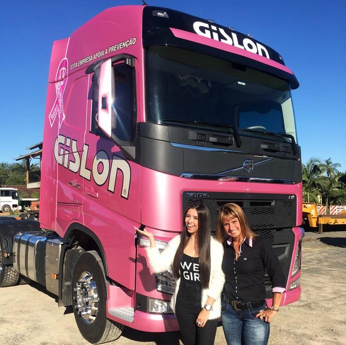 Mistura vai mostrar a vida de uma caminhoneira  (Foto: RBS TV/Divulgação )