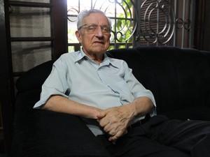 Aldo Vannucchi relembra noite que passou na cadeia com outras personalidades sorocabanas (Foto: Roberta Steganha/ G1)