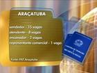 Balcão de empregos de Araçatuba oferece vagas para vários setores